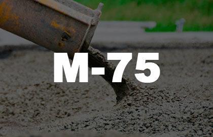 Раствор М75 - 2750 руб.